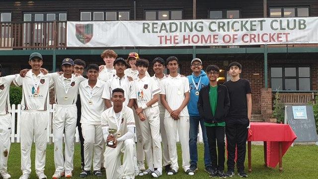 RCC U15's WIN BERKSHIRE COUNTY CUP