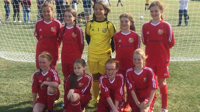 Under 11 Starlings Girls