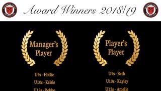 End of Season Award Winners Announced
