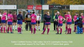 SCHC Ladies 3rd xl v Leamington