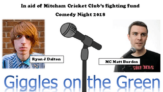 Tickets available for brilliant comedy night on the Green - update