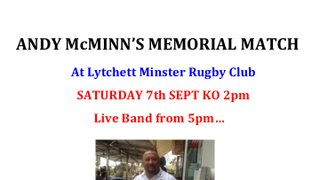 Andy Mcminn's Memorial Match