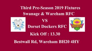 Final Pre-season game Swanage & Wareham Vs Dorset Dockers