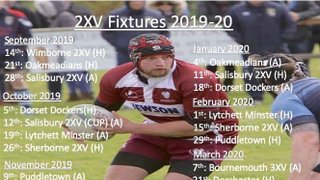 Swanage and Wareham RFC 2nd Team Fixtures