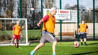 Walking Football - 99ers in the community