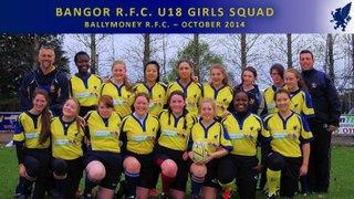 26/10/14 Ballymoney U18 Ladies - League