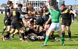 High drama as Bangor beat Malahide