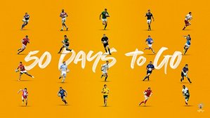 Rugby World Cup - 50 days to go!