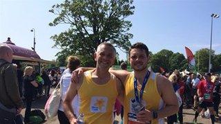 Matty and David's Peebles Sprint Triathlon