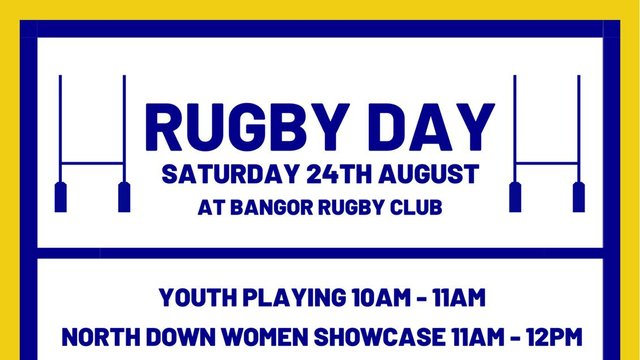Bangor Rugby Showcase Day