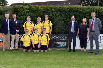 U14 with Boyd Rice Solicitors