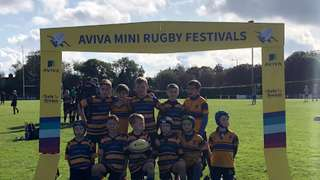 12/10/19 Aviva Mini Rugby tournament