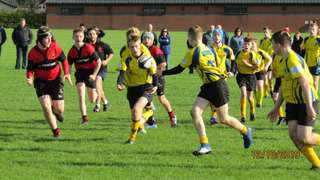 Tough league opener for U14s at Carrick