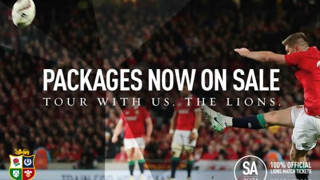 Lions Tour packages now on sale!