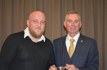 Gaz Beard - Club Player of Season, 1st XI Match Winning Performance & 1st XI Batting.