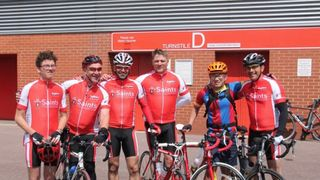 Mario Gualano undertakes Saints Foundation Bike Ride from Crystal Palace to St Marys