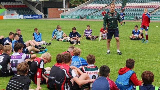 Leicester Tiger's Masterclass at Lichfield RUFC