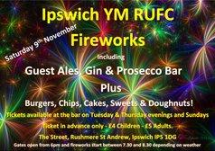 Ipswich YM RUFC Fireworks 2019