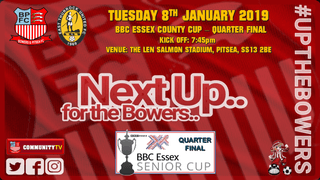 Bowers 1 - 0 Barking  - FA Cup - 24082018