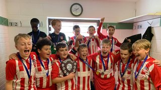U12's White Cup Winners