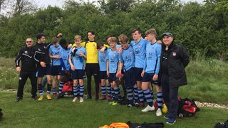 U15's Double Winners