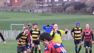 2014 Jan 18th 1st vs East Grinstead (29-5) at Seaford RFC