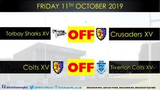 Friday 11th October