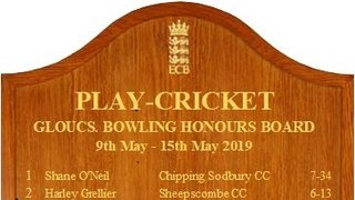 Week 2 Honours Boards