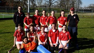 Awesome hockey from our U14 girls team