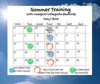 Pre-Season Training Starting Thurs 6th June