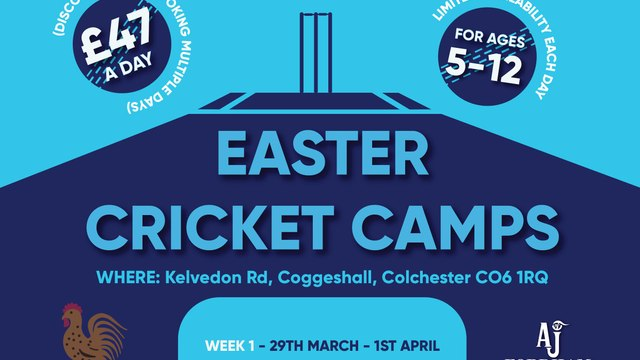 360 cricket easter camps