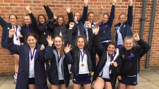 Maidenhead Girls u14s secured a top four finish in the Home counties league finals