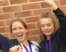 Well Done to Cate & Yas