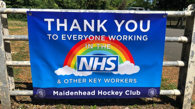 Thank you to all NHS & Key Workers