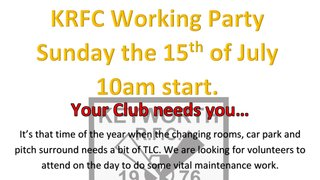 Keyworth work party day Sun 15th of July