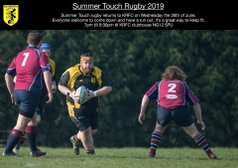 2019 Summer Touch Rugby