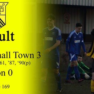 Hucknall Town 3 Pinxton 0