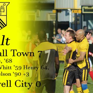 Hucknall Town 7 Southwell City 0