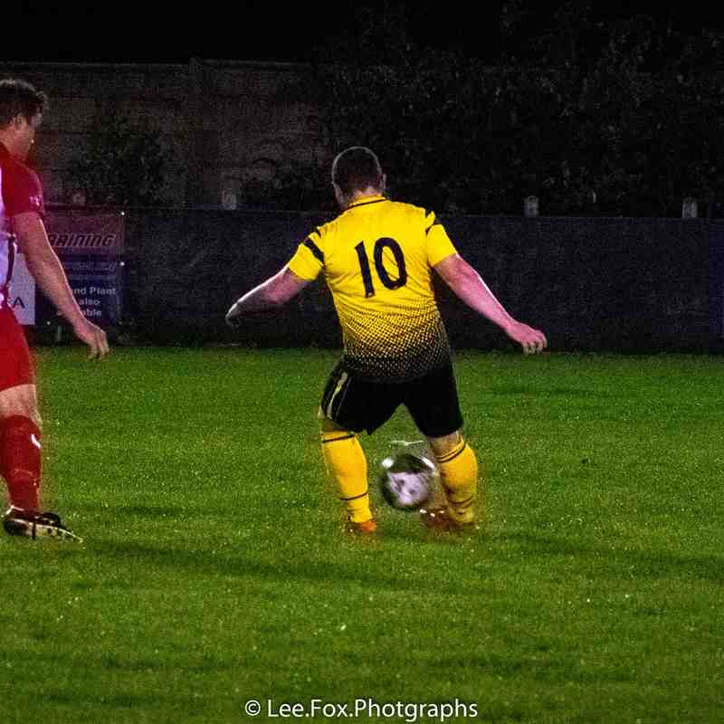 Hucknall Town vs Ingles League Cup - 16/10/19