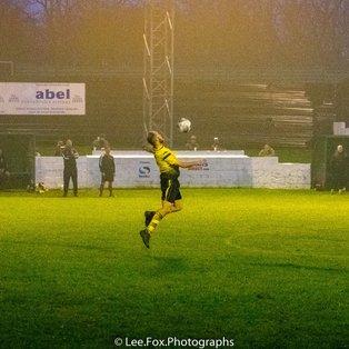 Hucknall go goal crazy at Shirebrook