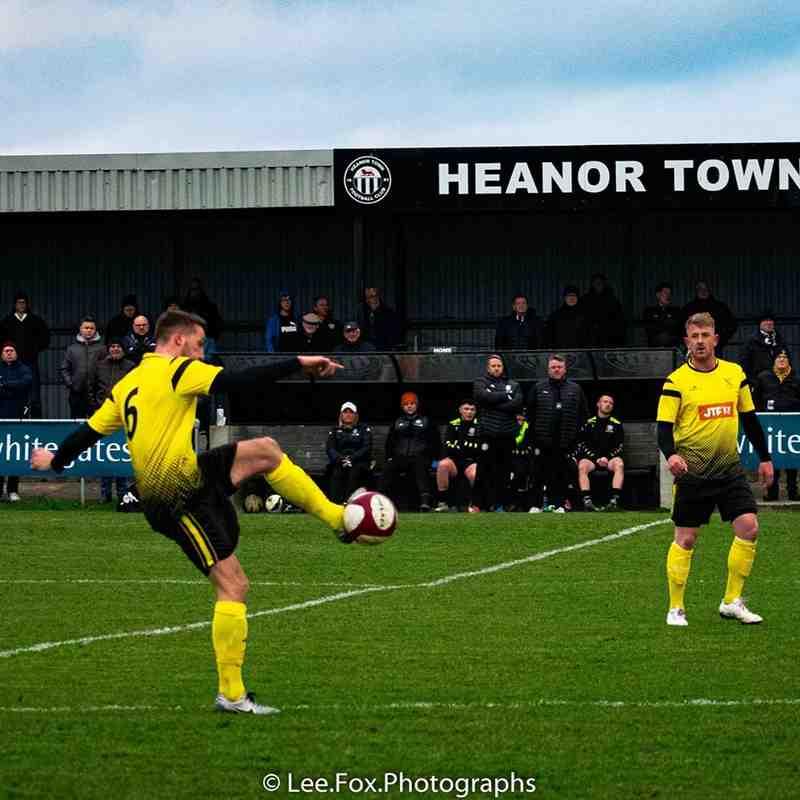 Heanor Town vs Hucknall Town 4-1-2020