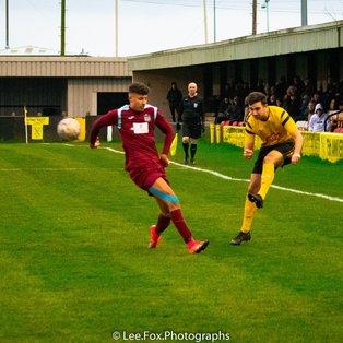 Hucknall Town 0 Radford FC 2