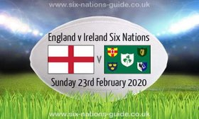 Ards Minis showing the England v Ireland match on Sunday 23rd February from 2.30pm