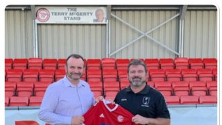 ANNOUNCEMENT - FERGUS O'CALLAGHAN APPOINTED AS NEW FIRST TEAM MANAGER