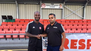HAVERHILL ROVERS F C WELCOMES FORMER PREMIER LEAGUE FORWARD LEROY LITA TO THE CLUB