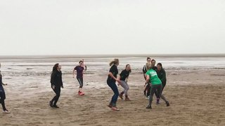 Ladies Touch Rugby Training Night on the Beach