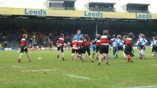 Under 8's win at Headingley