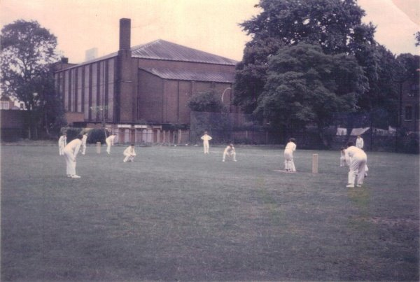 Under 12 cricket team playing in the paddock 1966.