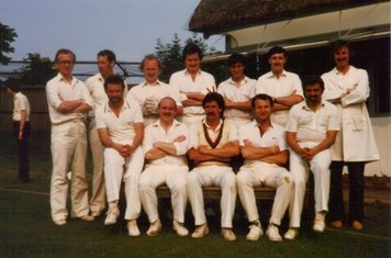 Suffolk 1984 Tour, COXA v Misley - M Duffy, S Miller, J Hickey, F Barretta, C Freeze, S Burke, M Power - S Battersley, C Smith, B Benedict, W Bowers, T Amura.
