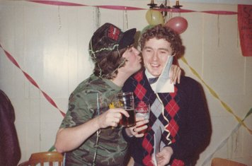 Christmas Party at Norbury,  December 1981
